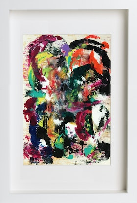 (CreativeWork) Cotton #3 by Estelle Asmodelle. Acrylic Paint. Shop online at Bluethumb.