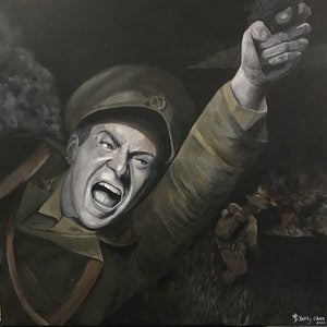 (CreativeWork) War cries by Betty Chan. arcylic-painting. Shop online at Bluethumb.
