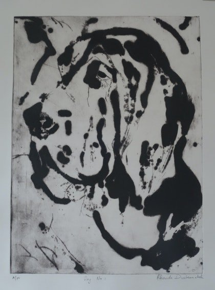 (CreativeWork) Dog No1  (Artists Proof) by Rhonda Diakomichalis. print. Shop online at Bluethumb.