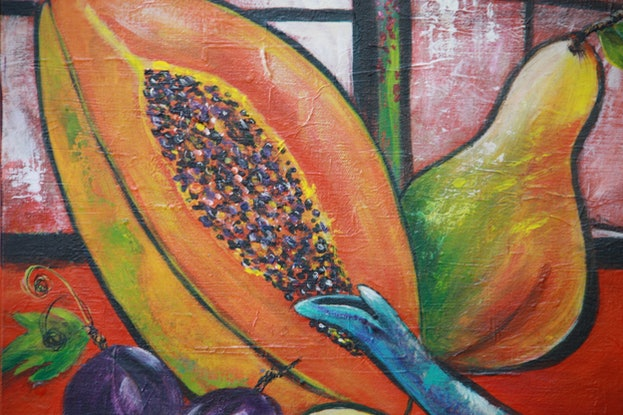 (CreativeWork) Seed of Life by Sue Dingle. Mixed Media. Shop online at Bluethumb.