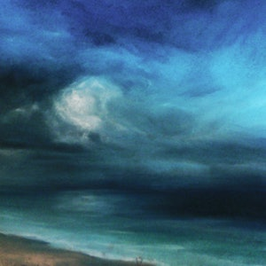 (CreativeWork) Cottesloe Beach; evening by Paul Robertson. drawing. Shop online at Bluethumb.