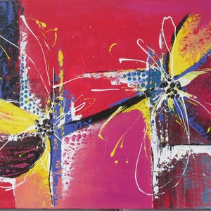 (CreativeWork) Worlds on Fire by Jennie Smith. arcylic-painting. Shop online at Bluethumb.