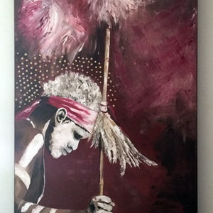 (CreativeWork) Tradition by Lesley K Williams. oil-painting. Shop online at Bluethumb.