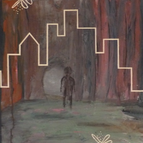 (CreativeWork) Haven by Jarrod Carter. Acrylic Paint. Shop online at Bluethumb.