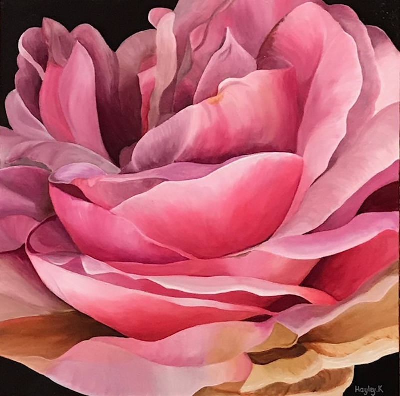 (CreativeWork) Splendour by Hayley Kruger. arcylic-painting. Shop online at Bluethumb.