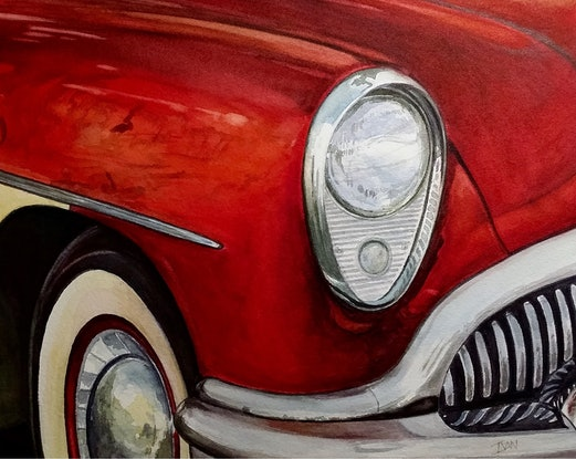 (CreativeWork) Buick by Ivan McClennan. #<Filter:0x00005597d9169330>. Shop online at Bluethumb.