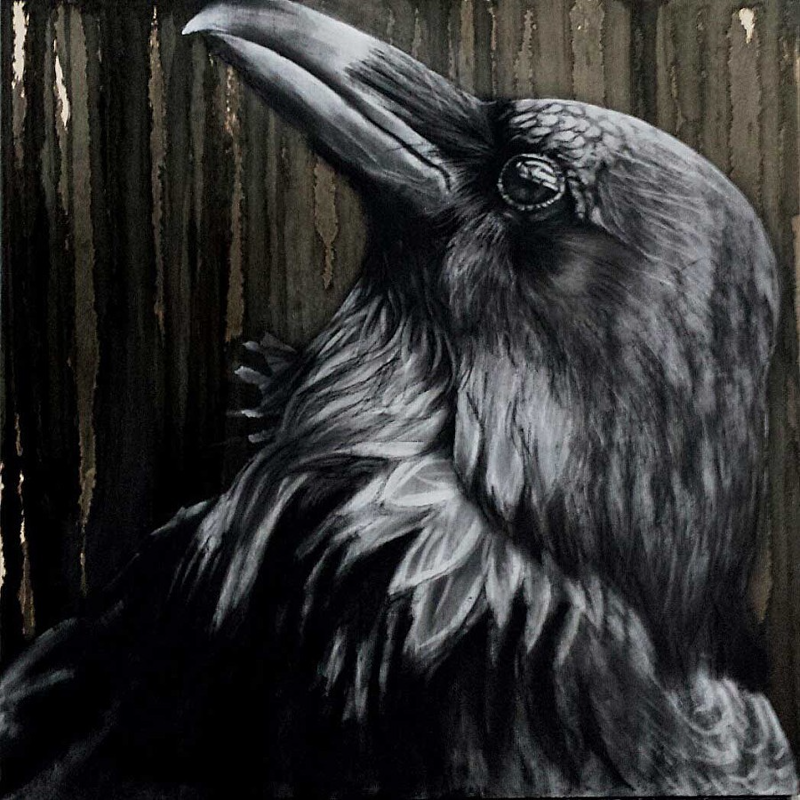 (CreativeWork) Nevermore by Karen Bloomfield. #<Filter:0x00007f5a0a9d2dd8>. Shop online at Bluethumb.
