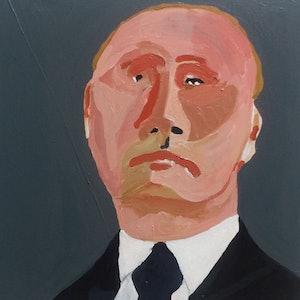 (CreativeWork) Vlad by Sharon Monagle. arcylic-painting. Shop online at Bluethumb.