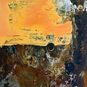 (CreativeWork) Quinns Beach by Dale Pattenden. mixed-media. Shop online at Bluethumb.