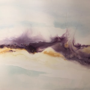 (CreativeWork) Dust Devils by Jackie Peach. arcylic-painting. Shop online at Bluethumb.