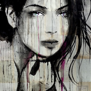 (CreativeWork) CONTENTS by loui jover. drawing. Shop online at Bluethumb.