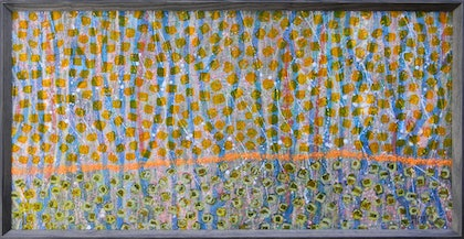 (CreativeWork) Forest by Adel Nemeth. mixed-media. Shop online at Bluethumb.