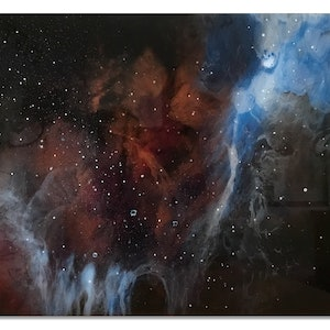(CreativeWork) Beyond Here by Jean Cameron. arcylic-painting. Shop online at Bluethumb.