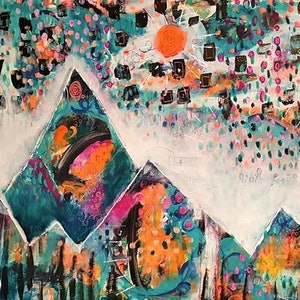 (CreativeWork) You can always look up by Colleen Talbot. mixed-media. Shop online at Bluethumb.