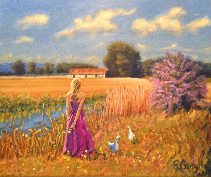 in fields of gold by robyn gray paintings for sale bluethumb