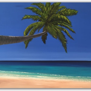 (CreativeWork) Lost in Paradise... by Barbara Bodri-Dezsi. arcylic-painting. Shop online at Bluethumb.