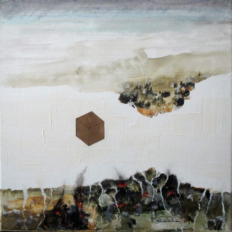 (CreativeWork) the new Jerusalem by Peter Shanahan. mixed-media. Shop online at Bluethumb.