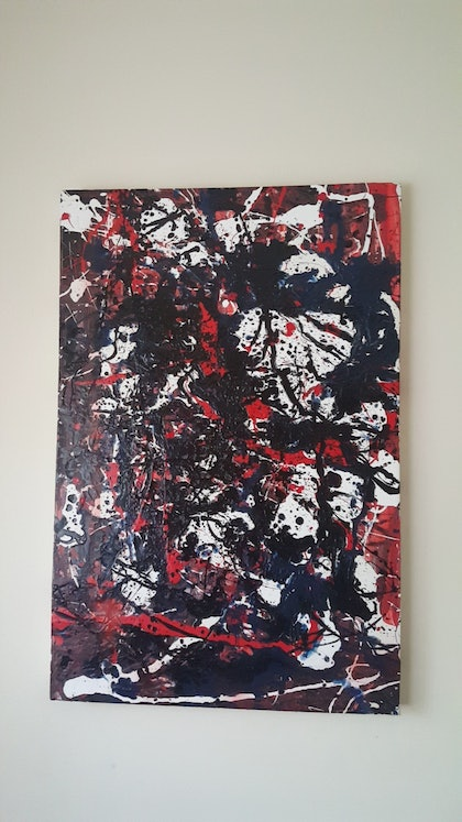 (CreativeWork) No.1  by Nick Vrankovic. oil-painting. Shop online at Bluethumb.
