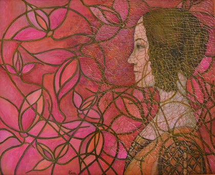 (CreativeWork) Your Graces and Your Gifts by Denise Piva. oil-painting. Shop online at Bluethumb.