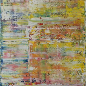 (CreativeWork) Surface 16 by Glenn Miller. oil-painting. Shop online at Bluethumb.