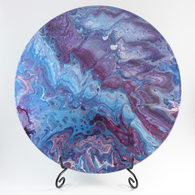 (CreativeWork) Rift in Space by Rhana Griffin. mixed-media. Shop online at Bluethumb.