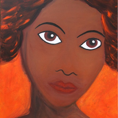 (CreativeWork) Alunga by Robyn Michael. Acrylic Paint. Shop online at Bluethumb.