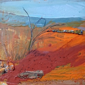 (CreativeWork) Outback Sketch 2 by William Holt. mixed-media. Shop online at Bluethumb.