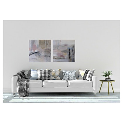 (CreativeWork) The Sound of Quiet by Christine Scurr. arcylic-painting. Shop online at Bluethumb.