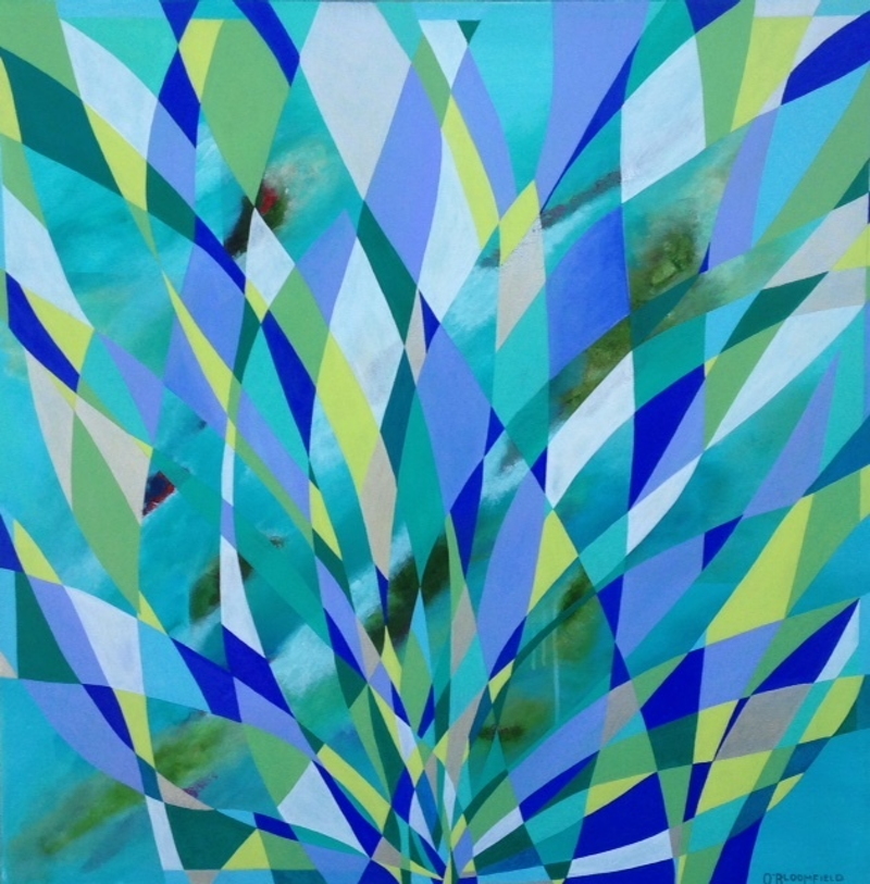 (CreativeWork) What Lies Beneath by Olena Bloomfield. arcylic-painting. Shop online at Bluethumb.