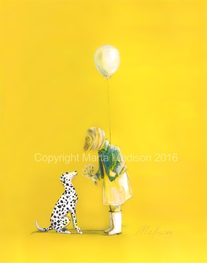 NO BETTER FRIEND. LIMITED EDITION GICLEE PRINT 1 of 25