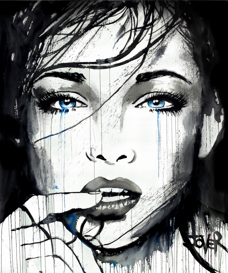 (CreativeWork) A NEW PROMISE by loui jover. acrylic-painting. Shop online at Bluethumb.
