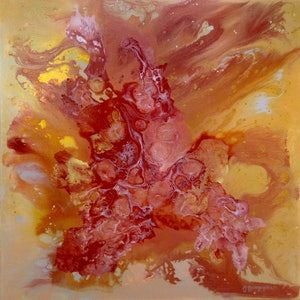 (CreativeWork) First Autumn Frost by Olena Bloomfield. acrylic-painting. Shop online at Bluethumb.