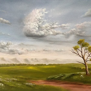 (CreativeWork) OUTBACK WIND of CHANGE by Matt Symons. oil-painting. Shop online at Bluethumb.