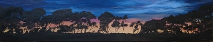 (CreativeWork) Sunrise Walk by Sharon Tarrant. arcylic-painting. Shop online at Bluethumb.