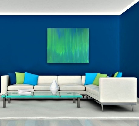 (CreativeWork) Subdued by Estelle Asmodelle. Acrylic Paint. Shop online at Bluethumb.