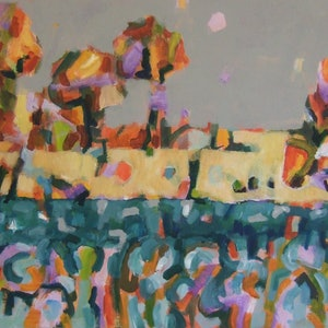 (CreativeWork) FUN IN THE SUN by Sara Wade. acrylic-painting. Shop online at Bluethumb.