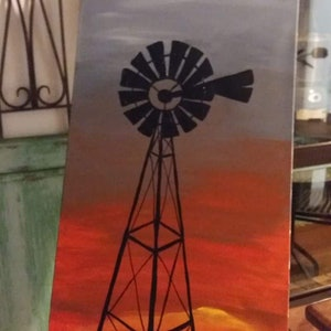 (CreativeWork) Outback Sunset  by Stacey Turner. arcylic-painting. Shop online at Bluethumb.