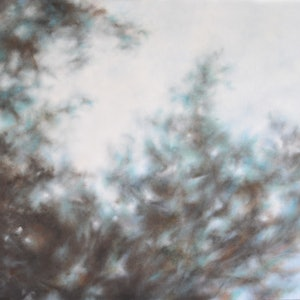 (CreativeWork) Dappled Breeze 1 by Bronwyn Woodley Graham. oil-painting. Shop online at Bluethumb.