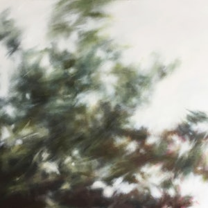 (CreativeWork) Dappled Breeze 2 by Bronwyn Woodley Graham. oil-painting. Shop online at Bluethumb.