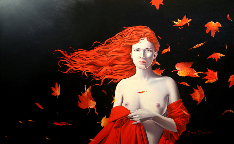 (CreativeWork) The Ghost of Autumn  Ed. 1 of 299 by Graeme Stevenson. print. Shop online at Bluethumb.