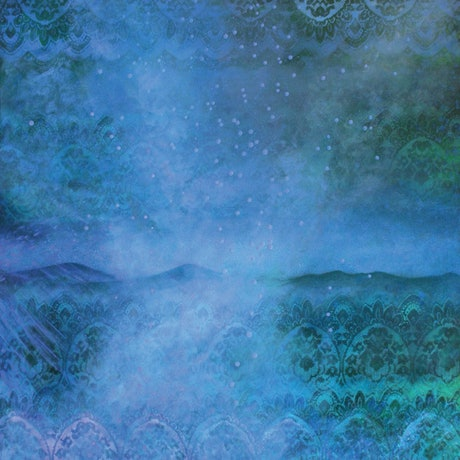 (CreativeWork) Stony Rises: Requiem in Blue by Elizabeth Simpson. Mixed Media. Shop online at Bluethumb.