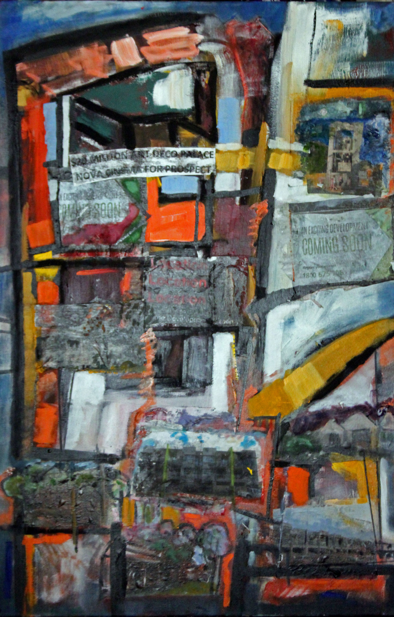 (CreativeWork) CHANGING TIMES by Maureen Finck. mixed-media. Shop online at Bluethumb.