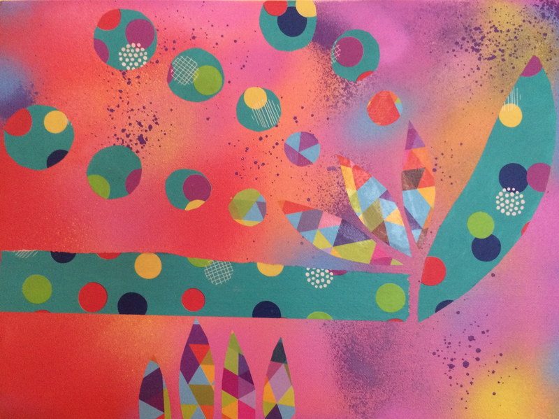 (CreativeWork) Other World by Tanya Tauszky. mixed-media. Shop online at Bluethumb.