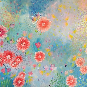 (CreativeWork) Dream Land by Adelin Hill. arcylic-painting. Shop online at Bluethumb.
