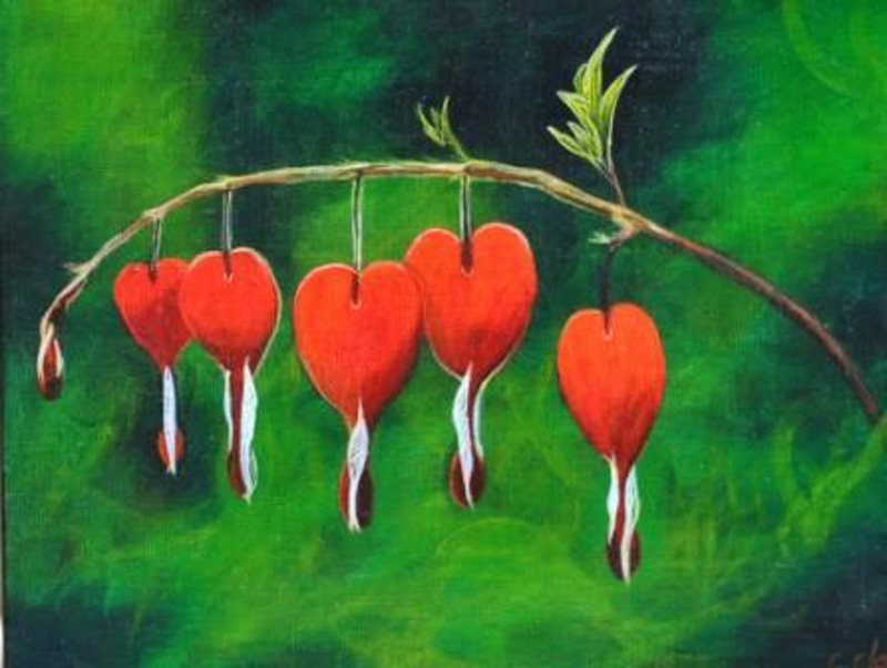 (CreativeWork) Heartfelt by Colleen Clark. acrylic-painting. Shop online at Bluethumb.