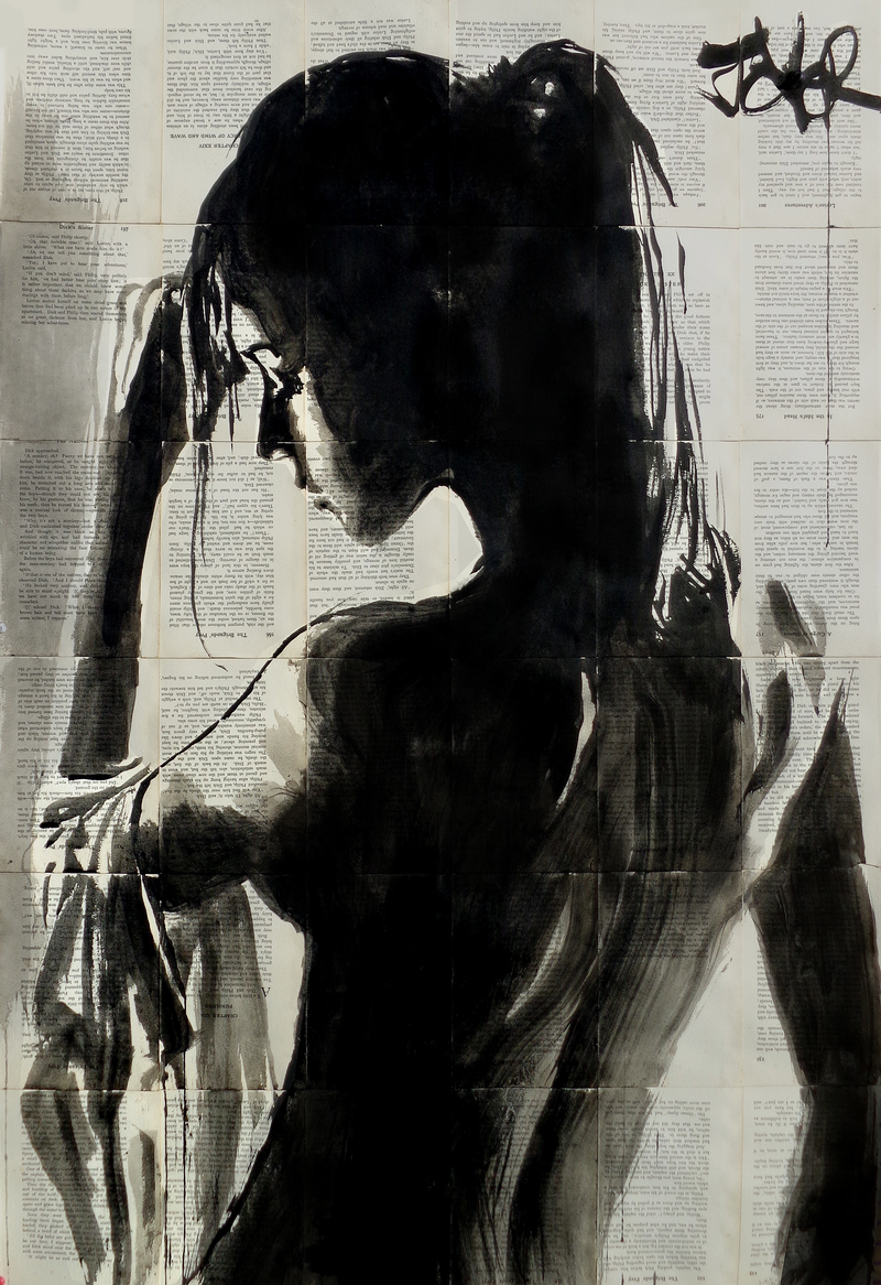(CreativeWork) NIGHT OASIS by loui jover. drawing. Shop online at Bluethumb.