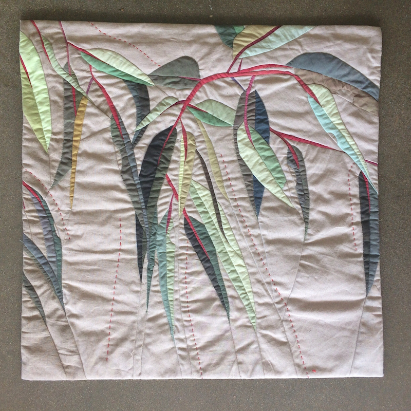 (CreativeWork) Leaves Rustle  5 by Ruth de Vos. other-media. Shop online at Bluethumb.