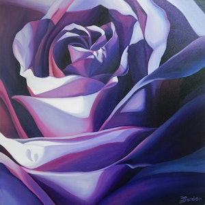 (CreativeWork) Connection by Bernadette Jordan. acrylic-painting. Shop online at Bluethumb.