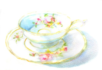 Tea time limited edition giclee print Ed. 2 of 120