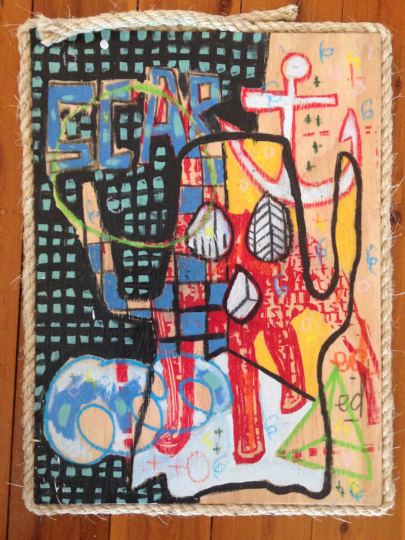 (CreativeWork) culture shock by paul parker. Mixed Media. Shop online at Bluethumb.